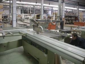Tasación de maquinaria: fábrica de muebles