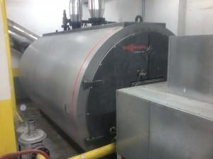 Caldera de calefacción de gran capacidad