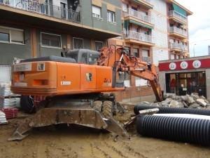 Excavadora giratoria