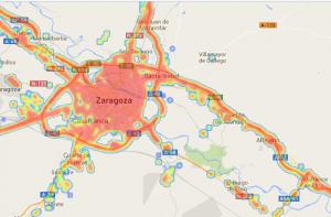 Mapa cobertura móvil