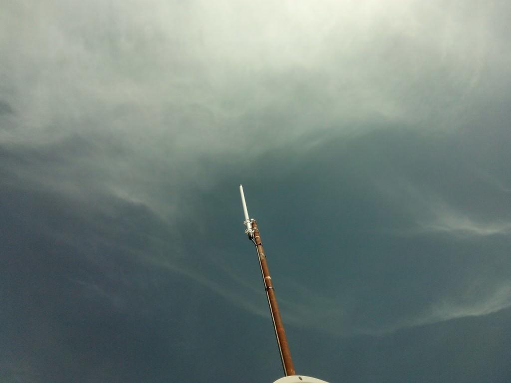 Antena radiocomunicación VHF