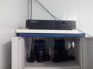 Repetidor y Transmisores UHF
