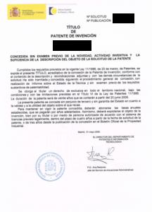 Titulo de Patente