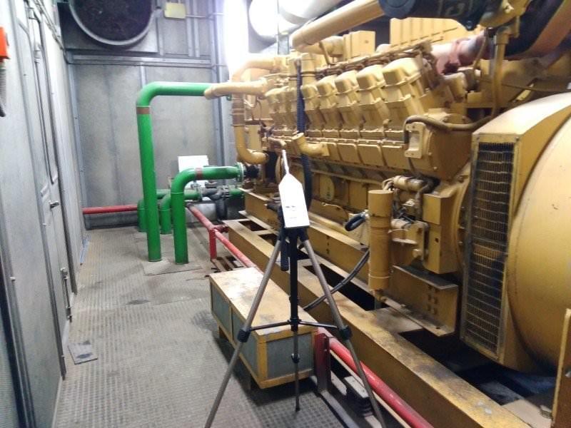 Condrol de ruido en maquinaria industrial
