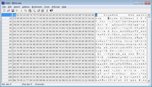 Audio forense: Editor hexadecimal